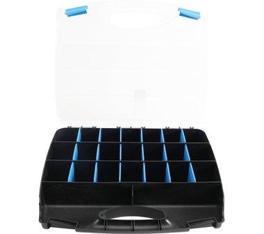 Caja de herramientas vacia para piezas pequenas
