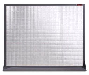 Perfopaneel metal gris 120x94cm