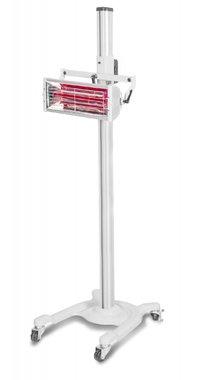Secador de pintura infrarroja con 1 lámparas