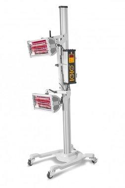 Secador de pintura infrarroja con 2 lámparas