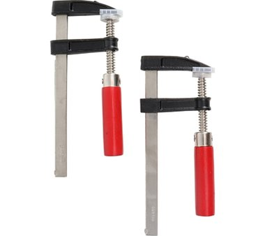 Juego de abrazadera de barra de accion rapida 50 x 150 mm 2 piezas