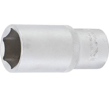Socket, hexágono, profundo | 12,5 mm (1/2