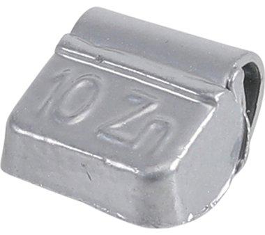Equilibrio de peso 10 g 100 piezas.