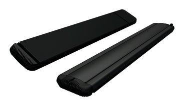 Calentador infrarrojo de 1800w negro 9818
