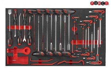 Llave de goteo de espuma y juego de llaves esféricas 29 piezas