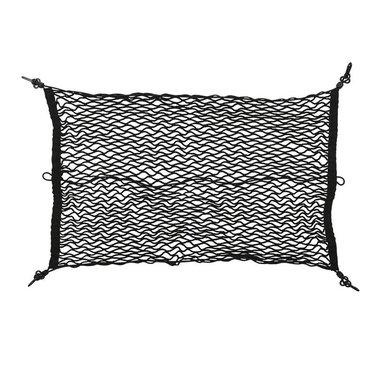 Equipaje de red elástica de 80x60cm con ganchos de plástico NS-3