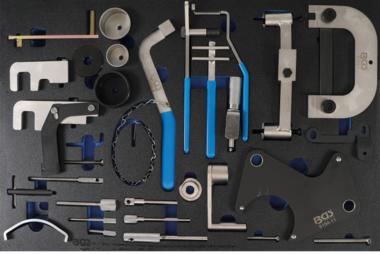 Tool Tray 3/3: Juego de herramientas de sincronización del motor para Renault, Nissan, Opel, Volvo