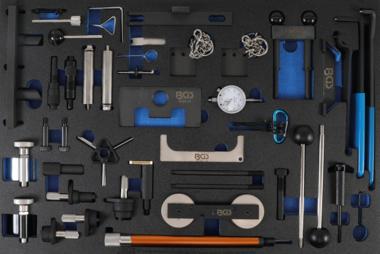 Tool Tray 3/3: Juego de herramientas de sincronización del motor para Ford, VAG, Mazda, Volvo