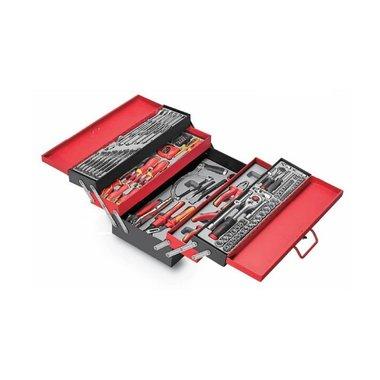 Caja de herramientas llena 187 piezas