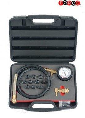Set de prueba de presión de aceite de 12 piezas