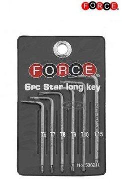 Estrella larga clave 6 piezas