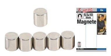 Set magnético extra fuerte diámetro 9.5 mm 6 pzas