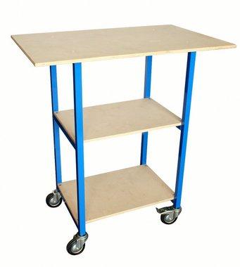 Almacen trolley 3 estantes
