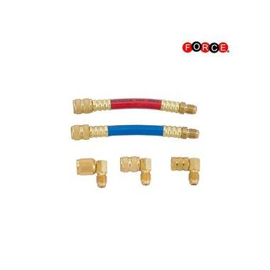 Kit de adaptador giratorio auto A / C 5 piezas