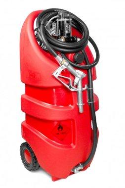Tanque diesel rojo 110l, 12v piusi