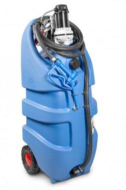 Tanque adblue azul 110 litros, bomba 12v