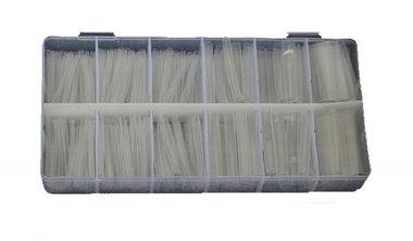 Surtido termocontraíble Transparente 150 piezas