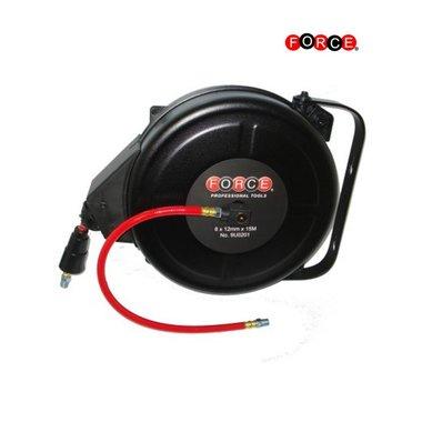 Carrete de manguera de aire de rebobinado automático (5 / 16x15M)