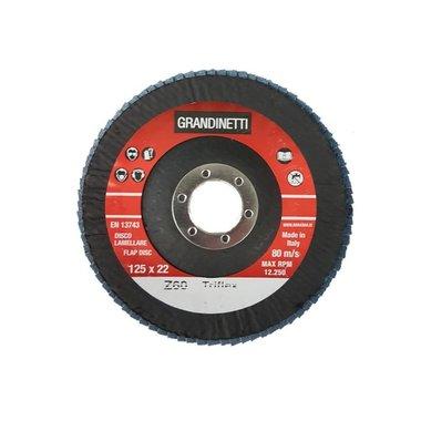 Disco de aleta P60 - 125MM