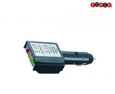 Bater a auto y analizador de sistema de carga 12V