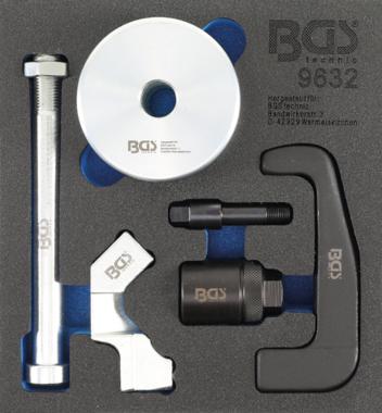 Extractor de inyectores para inyectores Bosch CDI 6 piezas