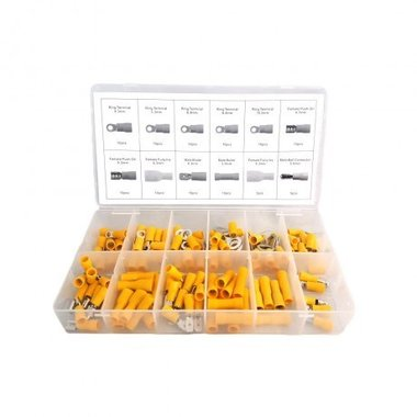 Conectores de cable amarillo 110 piezas