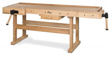 Banco de trabajo de madera pesada - 2100x700 mm