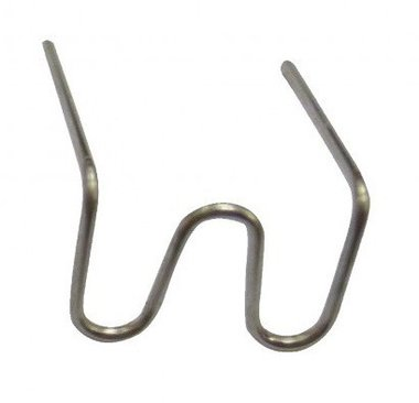 Abrazaderas de reparacion 0.6 mm W tipo x100 piezas