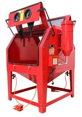 Cabina de chorro de arena 1200 litros.