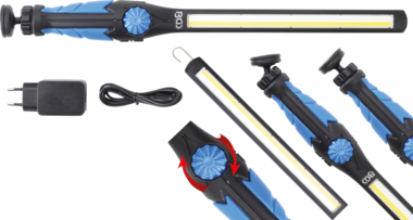 Lampara de trabajo LED COB / UV ultra plana