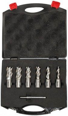 Juego de brocas de n cleo 6 piezas 12 - 22mm