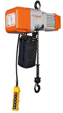Polipasto eléctrico de 1 tonelada, 661x276x460mm