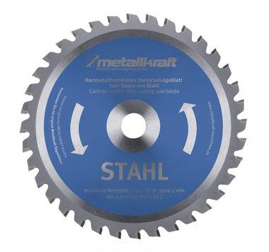 Hojas de sierra circular TCT para acero, dientes-48
