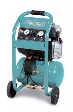 Compresor de construccion compacta con 10 bar, 10 litros