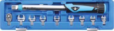 Juego de llave dinamometrica 6,3 mm (1/4) 10 - 50 Nm 10 piezas