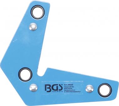 Escuadra magnetica extra fuerte forma de L 9 kg