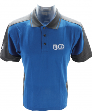BGS Camisa de polo talla L