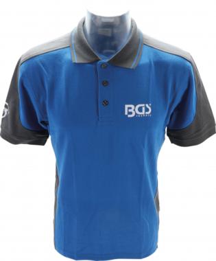 BGS Camisa de polo talla XL