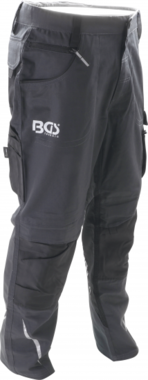 BGS Pantalones de trabajo largos Talla 62