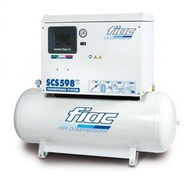 Compresor silencioso 270 litros