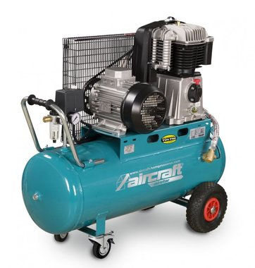 Compresor de aceite accionado por correa 10 bar - 100 litros
