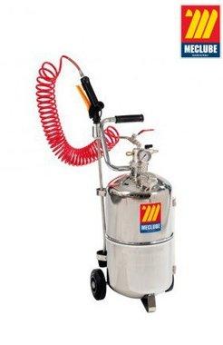Pulverizador de acero inoxidable con ruedas 24 litros