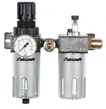 Filtro / regulador de presion + atomizador de aceite 1/2