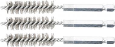 Cepillo de acero 12 mm 6,3 mm (1/4) 3 piezas