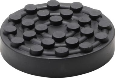 Plato de goma | para plataformas elevadoras | Ø 120 mm