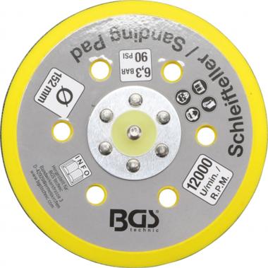 Plato de Velcro para BGS 3290, 8688 | Ø 152 mm