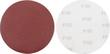 Juego de discos abrasivos para lijadora de cuello largo granulacion de 180 oxido de aluminio 10 piezas