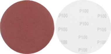 Juego de discos abrasivos granulacion de 100 oxido de aluminio 10 piezas
