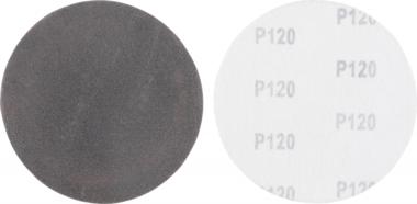 Juego de discos abrasivos granulacion de 120 carburo de silicio 10 piezas
