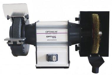 Molino de pulido con cepillo de diámetro 200 - 600W, 200x30x32mm